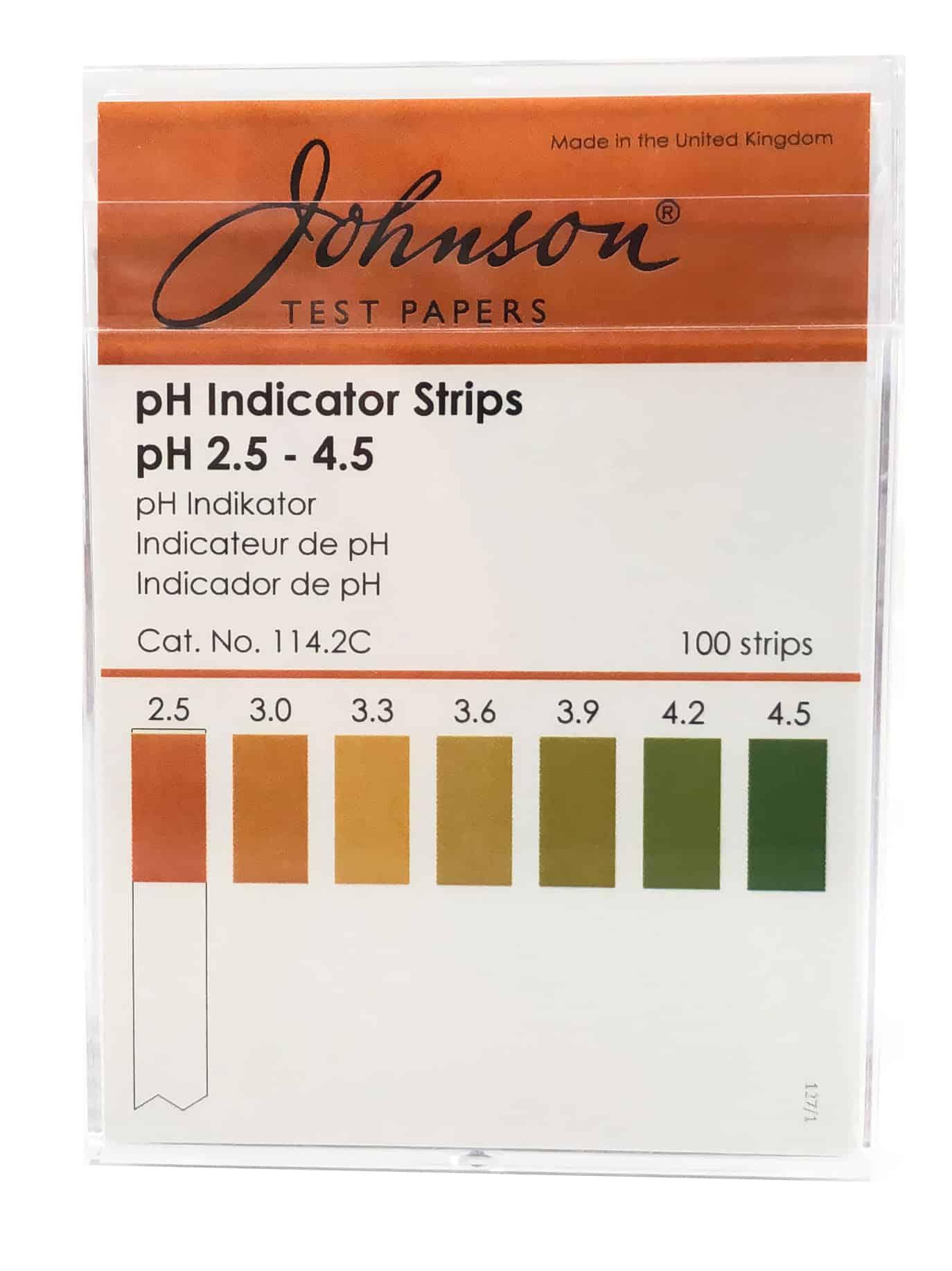 PH TEST STRIPS PH - Testeur de Sol,Soil Test Kit,pH Soil Test Kit
